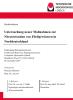 Cover for Untersuchung neuer Maßnahmen zur Nitratretention von Fließgewässern in Norddeutschland